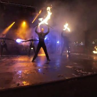 Fakyrų ugnies šou / Ugnies teatras / Darbų pavyzdys ID 412391