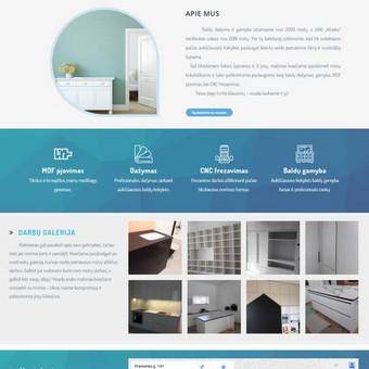 #1 Interneto svetainių, bei parduotuvių kūrimas,  SEO / Jonas Urbonas / Darbų pavyzdys ID 412515