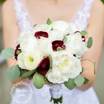 Gėlės vestuvėms / Egidija Janeliūnienė / Darbų pavyzdys ID 412753