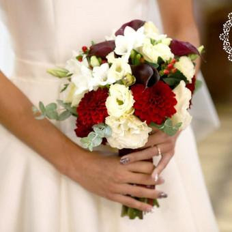 Gėlės vestuvėms / Egidija Janeliūnienė / Darbų pavyzdys ID 412755