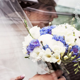Gėlės vestuvėms / Egidija Janeliūnienė / Darbų pavyzdys ID 412757