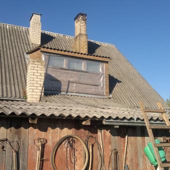 Karkasiniu namu statyba remontas  renovavimas Stogu dengimas / ovidijus / Darbų pavyzdys ID 413263