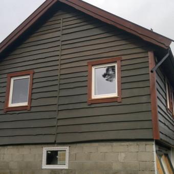 Karkasiniu namu statyba remontas  renovavimas Stogu dengimas / ovidijus / Darbų pavyzdys ID 413267