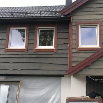 Karkasiniu namu statyba remontas  renovavimas Stogu dengimas / ovidijus / Darbų pavyzdys ID 413269