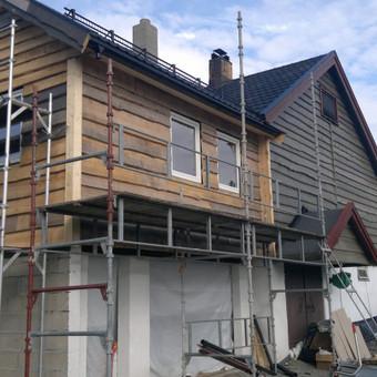 Karkasiniu namu statyba remontas  renovavimas Stogu dengimas / ovidijus / Darbų pavyzdys ID 413273