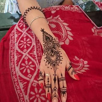 laikinos henna (chna) tatuiruotes / Ieva Jaru / Darbų pavyzdys ID 413321