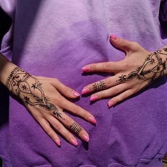 laikinos henna (chna) tatuiruotes / Ieva Jaru / Darbų pavyzdys ID 413325