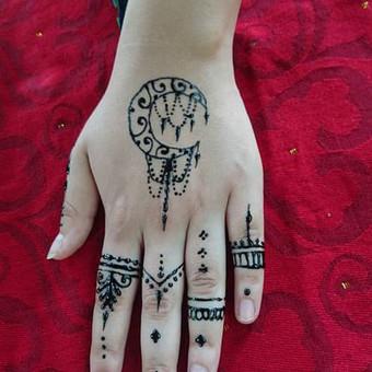 laikinos henna (chna) tatuiruotes / Ieva Jaru / Darbų pavyzdys ID 413327