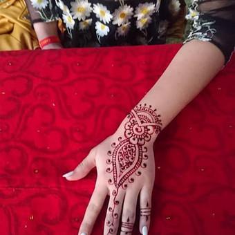 laikinos henna (chna) tatuiruotes / Ieva Jaru / Darbų pavyzdys ID 413341