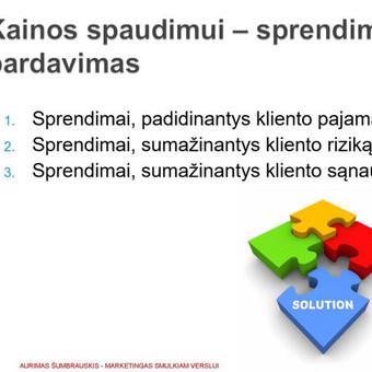 SVV rinkodaros / marketingo konsultantas (10+ metų patirtis) / Aurimas Šumbrauskis / Darbų pavyzdys ID 413829