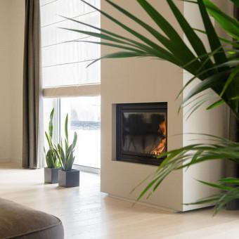 Šiltas modernus interjeras / Gitana Valavičiūtė / Darbų pavyzdys ID 413877