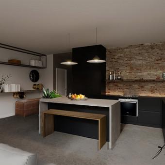 Interjero projektavimas / Flamingo interjero namai / Darbų pavyzdys ID 414263