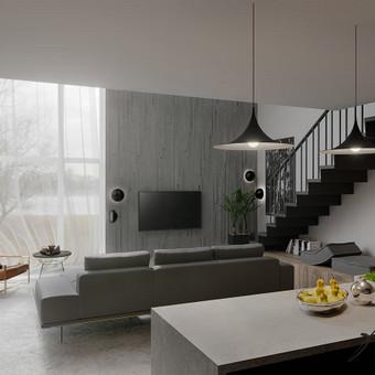 Interjero projektavimas / Flamingo interjero namai / Darbų pavyzdys ID 414269