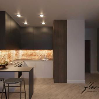 Interjero projektavimas / Flamingo interjero namai / Darbų pavyzdys ID 414283