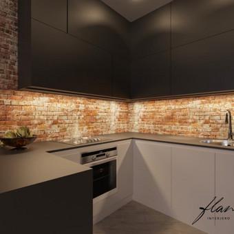 Interjero projektavimas / Flamingo interjero namai / Darbų pavyzdys ID 414285