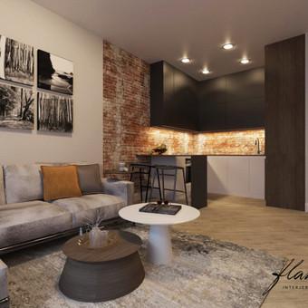 Interjero projektavimas / Flamingo interjero namai / Darbų pavyzdys ID 414291