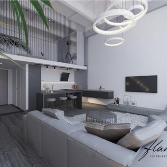 Interjero projektavimas / Flamingo interjero namai / Darbų pavyzdys ID 414303