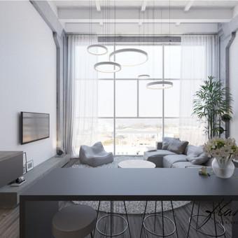 Interjero projektavimas / Flamingo interjero namai / Darbų pavyzdys ID 414305