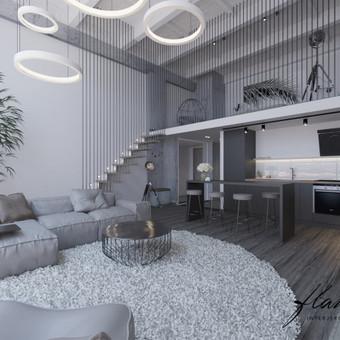 Interjero projektavimas / Flamingo interjero namai / Darbų pavyzdys ID 414307