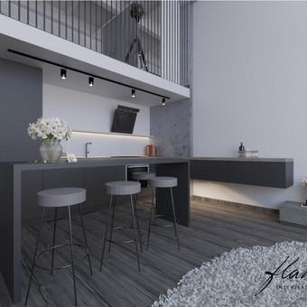 Interjero projektavimas / Flamingo interjero namai / Darbų pavyzdys ID 414309
