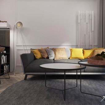 Interjero projektavimas / Flamingo interjero namai / Darbų pavyzdys ID 414319