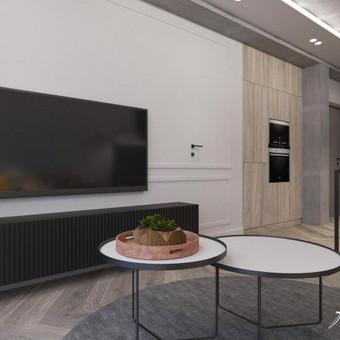 Interjero projektavimas / Flamingo interjero namai / Darbų pavyzdys ID 414321