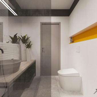 Interjero projektavimas / Flamingo interjero namai / Darbų pavyzdys ID 414337