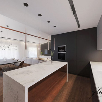 Interjero projektavimas / Flamingo interjero namai / Darbų pavyzdys ID 414339