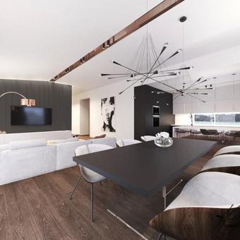 Interjero projektavimas / Flamingo interjero namai / Darbų pavyzdys ID 414341
