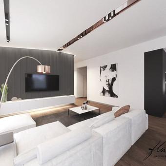Interjero projektavimas / Flamingo interjero namai / Darbų pavyzdys ID 414343