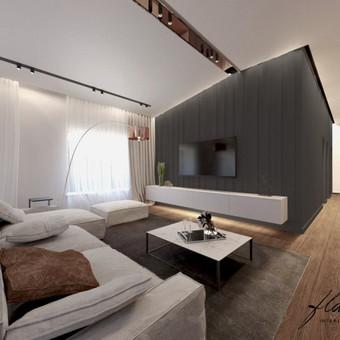 Interjero projektavimas / Flamingo interjero namai / Darbų pavyzdys ID 414345
