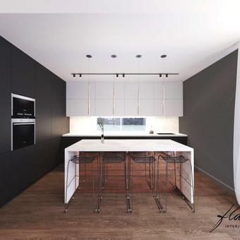 Interjero projektavimas / Flamingo interjero namai / Darbų pavyzdys ID 414347