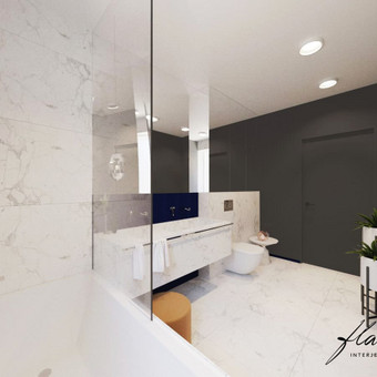 Interjero projektavimas / Flamingo interjero namai / Darbų pavyzdys ID 414351