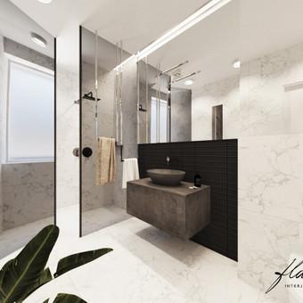Interjero projektavimas / Flamingo interjero namai / Darbų pavyzdys ID 414357