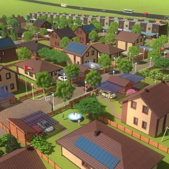 Gyvenamųjų kvartalų koncepcijos kūrimas, detaliųjų planų rengimas, techniniai darbo projektai, projekto priežiūra, vystymas, pardavimai