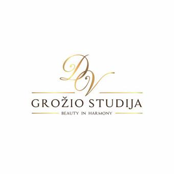 Logotipas kurtas D&V grožio studijai