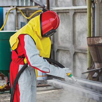 Smėliavimo ir dažymo darbai / UAB VAKARAI / Darbų pavyzdys ID 415821