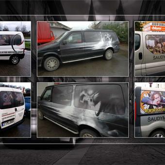 Reklamos dizainas, maketavimas, brėžiniai, 3D ir kita. / Aleksandras / Darbų pavyzdys ID 64302