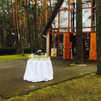 Vaišių staliukas po ceremonijos / Eglė Ivanskaja / Darbų pavyzdys ID 416723