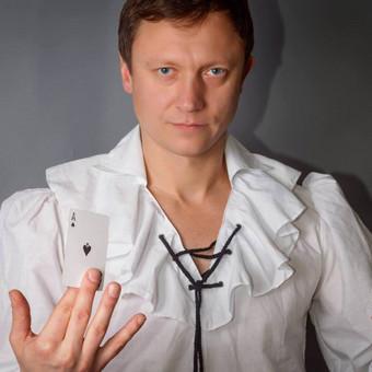 Iliuzionistas Jonas Palionis, šokėjų kolektyvas Leila Dance / Renata Leila / Darbų pavyzdys ID 417669