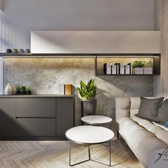 Interjero projektavimas / Flamingo interjero namai / Darbų pavyzdys ID 417707