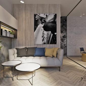 Interjero projektavimas / Flamingo interjero namai / Darbų pavyzdys ID 417709