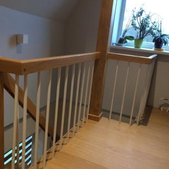Durys, laiptai, staliu gaminiai. / Andrius Tomelis / Darbų pavyzdys ID 418179