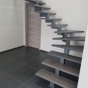 Durys, laiptai, staliu gaminiai. / Andrius Tomelis / Darbų pavyzdys ID 418207