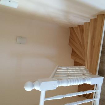 Durys, laiptai, staliu gaminiai. / Andrius Tomelis / Darbų pavyzdys ID 418211