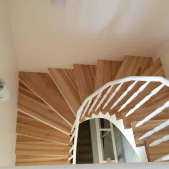 Durys, laiptai, staliu gaminiai. / Andrius Tomelis / Darbų pavyzdys ID 418213