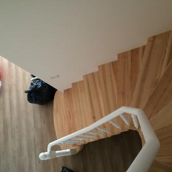 Durys, laiptai, staliu gaminiai. / Andrius Tomelis / Darbų pavyzdys ID 418217