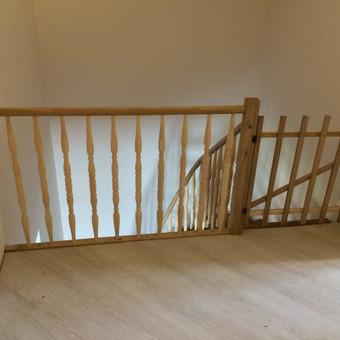 Durys, laiptai, staliu gaminiai. / Andrius Tomelis / Darbų pavyzdys ID 418225
