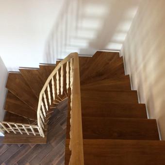 Durys, laiptai, staliu gaminiai. / Andrius Tomelis / Darbų pavyzdys ID 418227