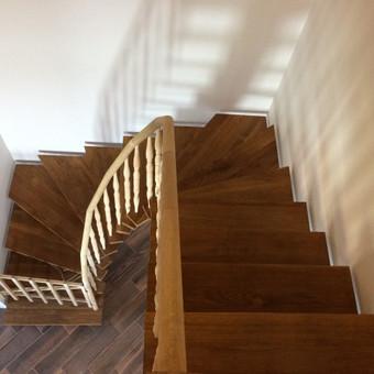 Durys, laiptai, staliu gaminiai. / Andrius Tomelis / Darbų pavyzdys ID 418229